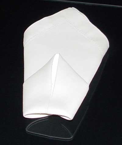 Folding Dinner Napkins The Cone Napkin Folding Instructions