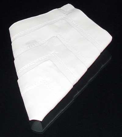 Finished Napkin Fold