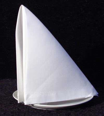 The Sail Dinner Napkin Fold