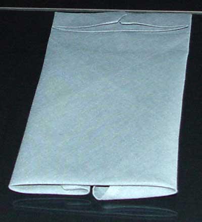 cloth napkin folding instructions