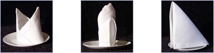 Napkin Folding Instructions 27 Photographed Folds