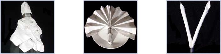 How to Make an Origami Napkin Lotus | 175x705